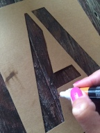 Trying stencil